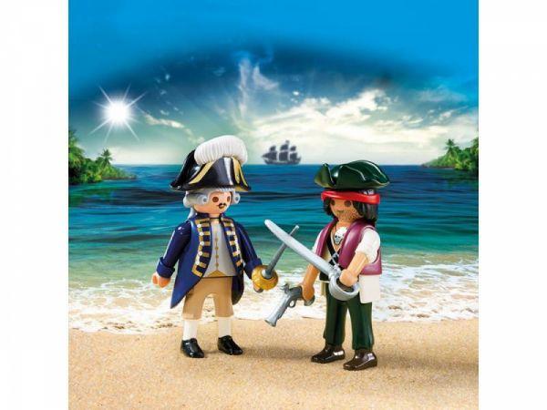 PLAYMOBIL® 6846 - Duo Pack Pirat und Soldat
