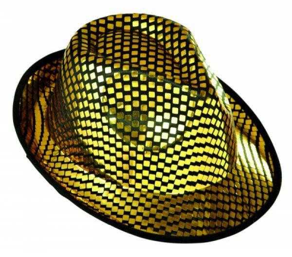 Widmann - Fedora Hut mit viereckigen Pailletten