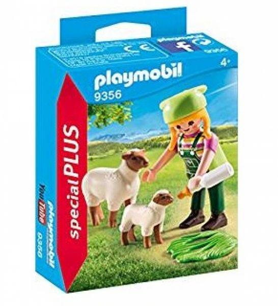 PLAYMOBIL® 9356 - Bäuerin mit Schäfchen