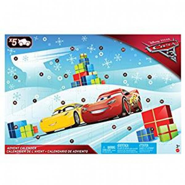 Mattel - Disney Cars 3 Adventskalender