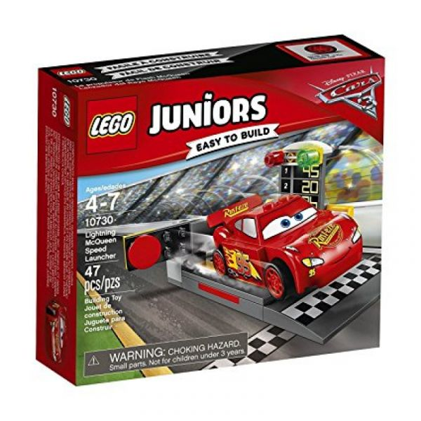 LEGO® Juniors 10730 - Lightning McQueens Beschleunigungsrampe