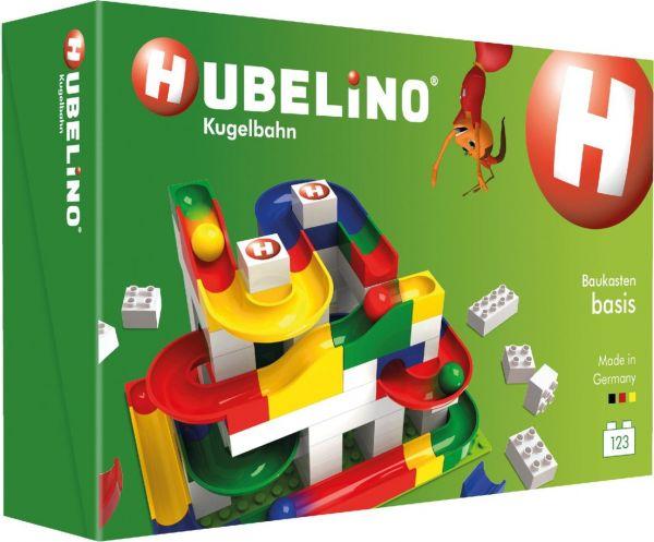 Hubelino - Kugelbahn 123-teiliger Basis Baukasten