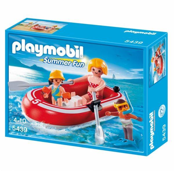 PLAYMOBIL® 5439 - Urlauber mit Schlauchboot