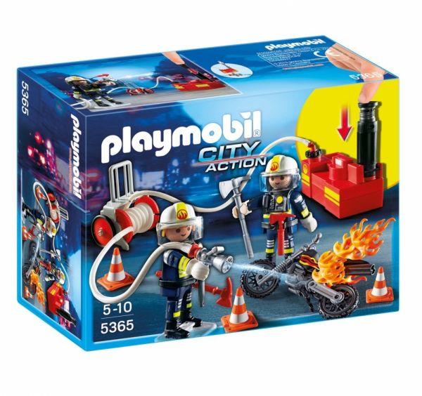 PLAYMOBIL® 5365 - Feuerwehrmänner mit Löschpumpe