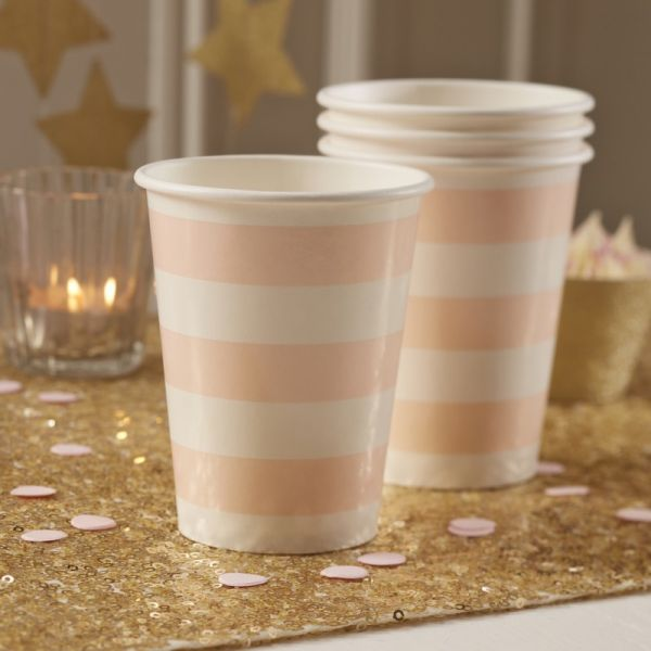 Ginger Ray - Partybecher Pastel Perfection