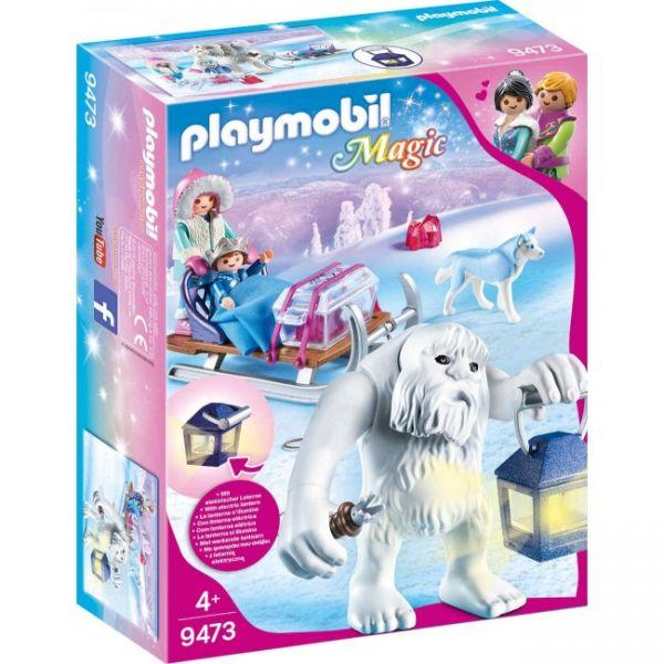 PLAYMOBIL® 9473 - Schneetroll mit Schlitten