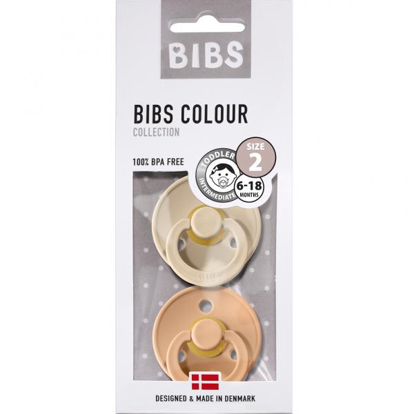 BIBS - Vanilla / Peach Gr. 1