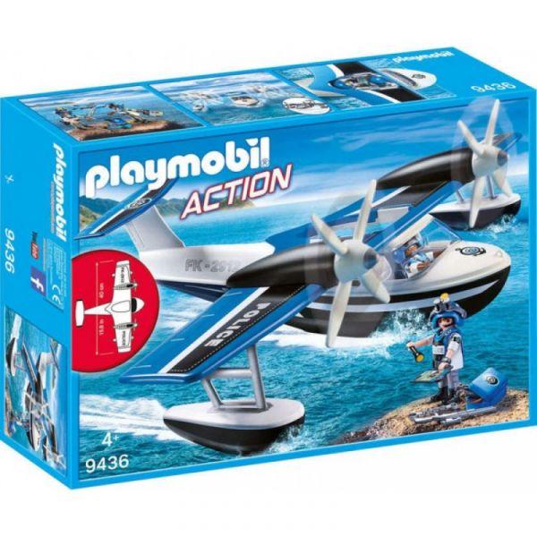 PLAYMOBIL® 9436 - Polizei Wasserflugzeug
