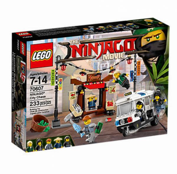 LEGO® Ninjago 70607 - Verfolgungsjagd in NINJAGO® City