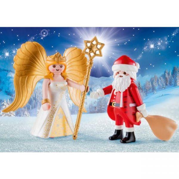 PLAYMOBIL® 9498 - Duo Pack Weihnachtsmann und Engel