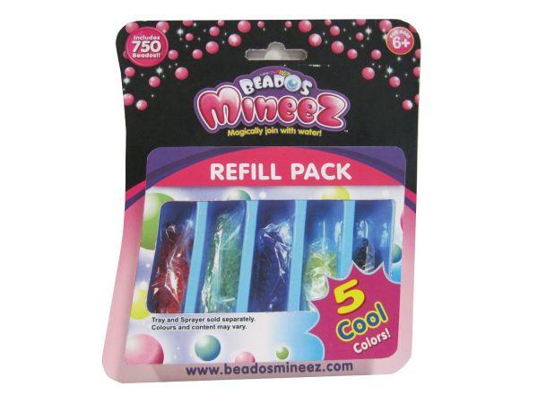 Bindeez 106191 - Mineez Nachfüllpack 750 Perlen