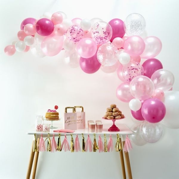 Ginger Ray - Ballon Arch Pink
