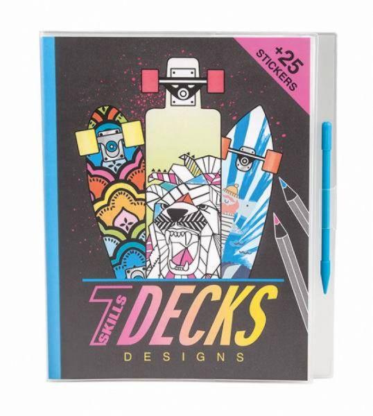 Depesche - Malbuch Decks Design