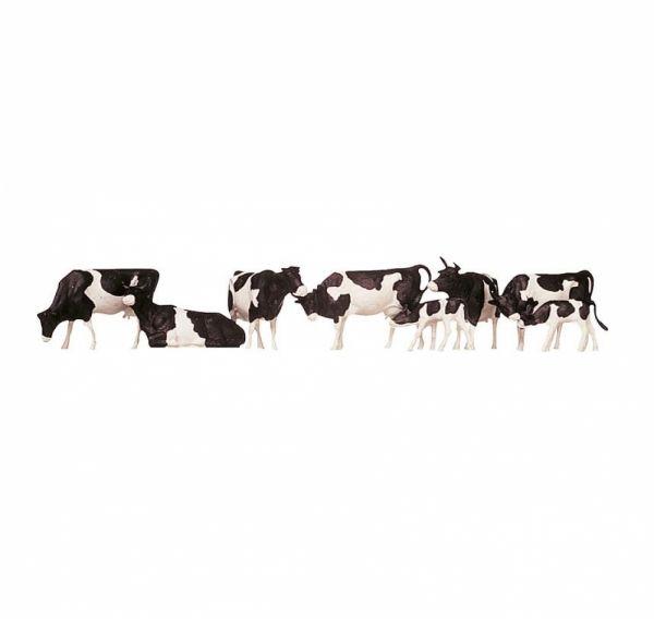 FALLER 154003 - Kühe, schwarz gefleckt, Spur H0