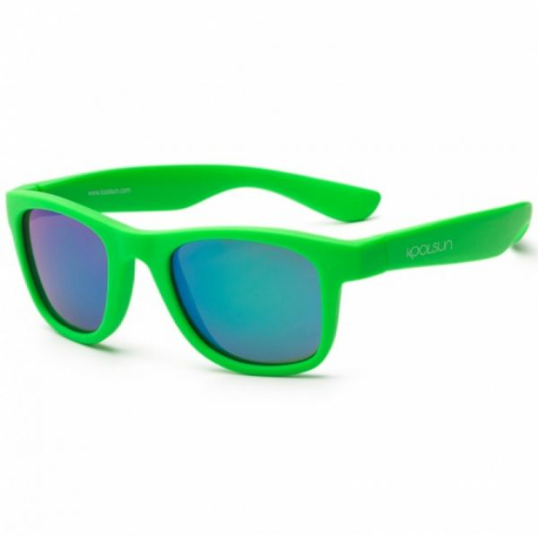 Koolsun - Kindersonnenbrille Wave Neon Green