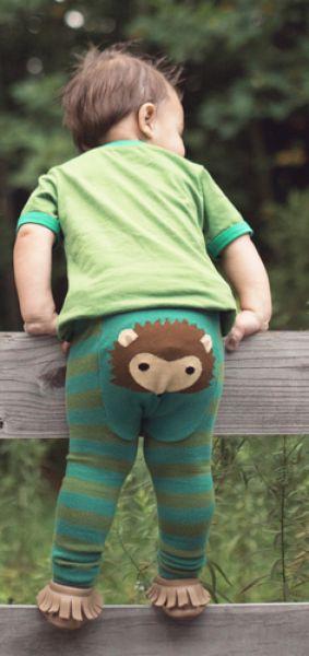 Doodle Pants - Igel Leggings