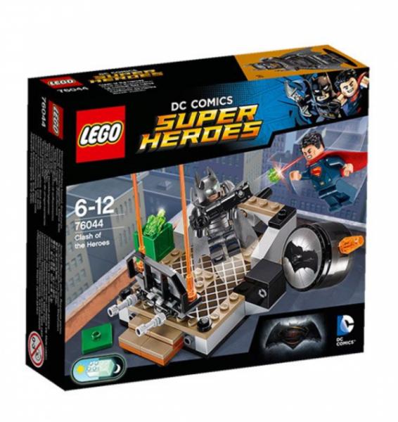 LEGO® Super Heroes 76044 - Duell der Superhelden